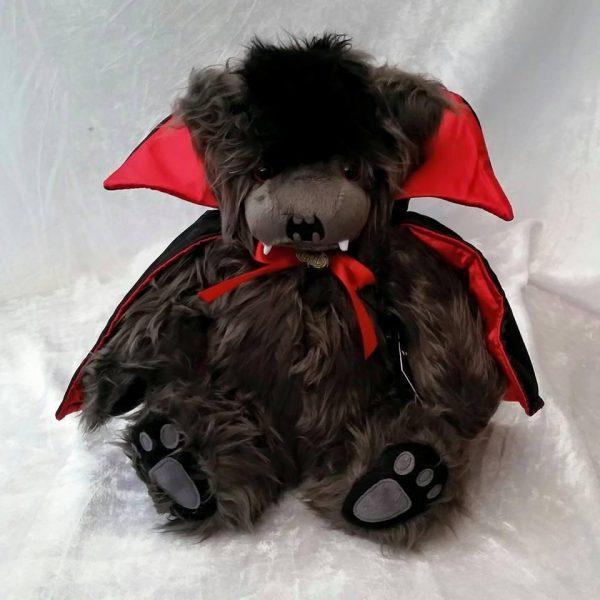 Ted the Impaler - Plush Vampire Teddy Bear