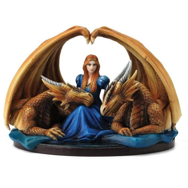 Anne Stokes 'Fierce Loyalty' Ornament 20cm