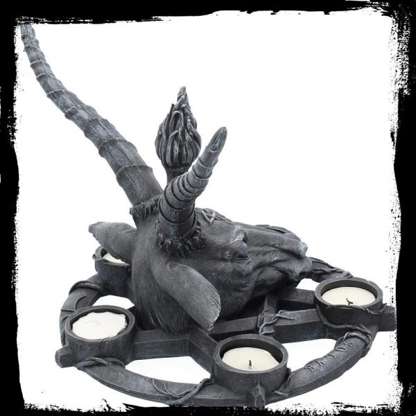 Baphomet Tea Light Candle Holder