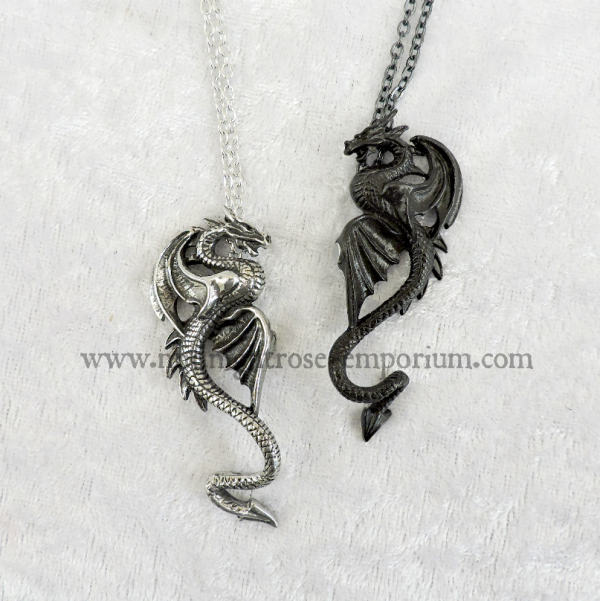Draconic Tryst Couple's Necklace