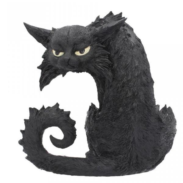 'Spite' Witches Familiar Black Cat Ornament 25.5cm