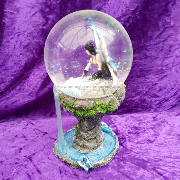 Immortal Flight Snow Globe (Anne Stokes)