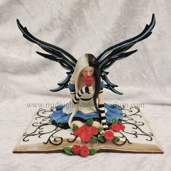 Alice in Wonderland Inspired Fairy Ornaments - Full set of 3