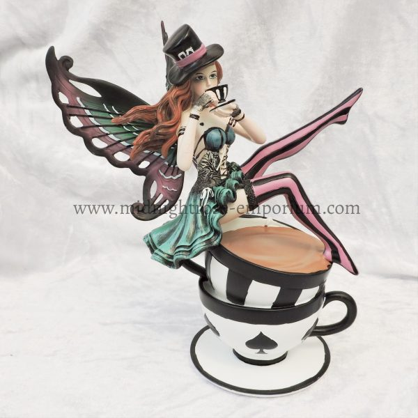 Alice in Wonderland Inspired 'Hatter' Fairy Figurine 16cm