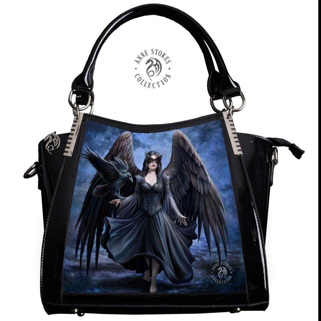 Anne Stokes 3D Lenticular Handbag 'Raven'