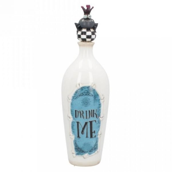 Alice in Wonderland 'Drink Me' Ceramic Bottle