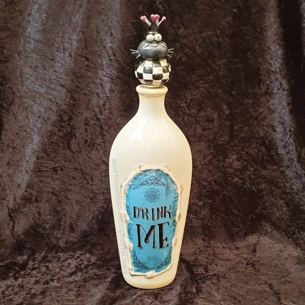 Alice in Wonderland 'Drink Me' Ceramic Bottle