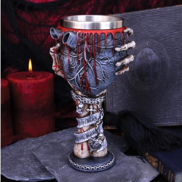 My Black Heart Bleeds Goblet 18cm