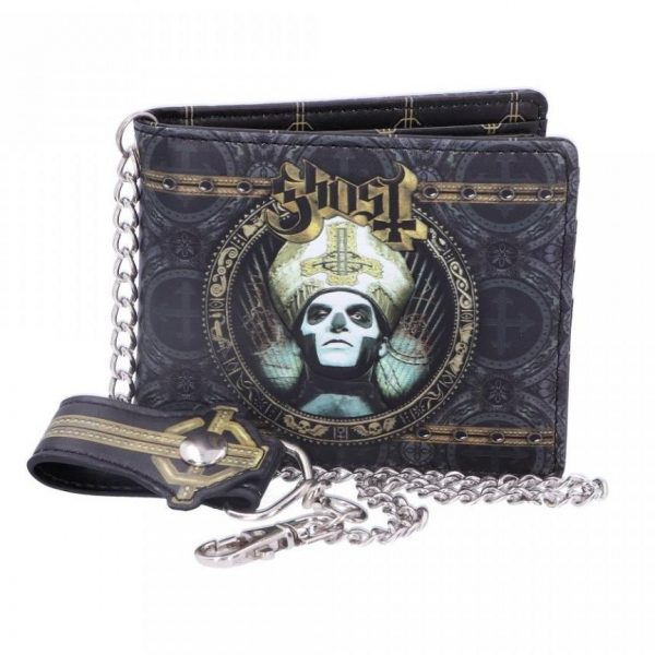 Ghost Gold Wallet - Officially Licensed Merch