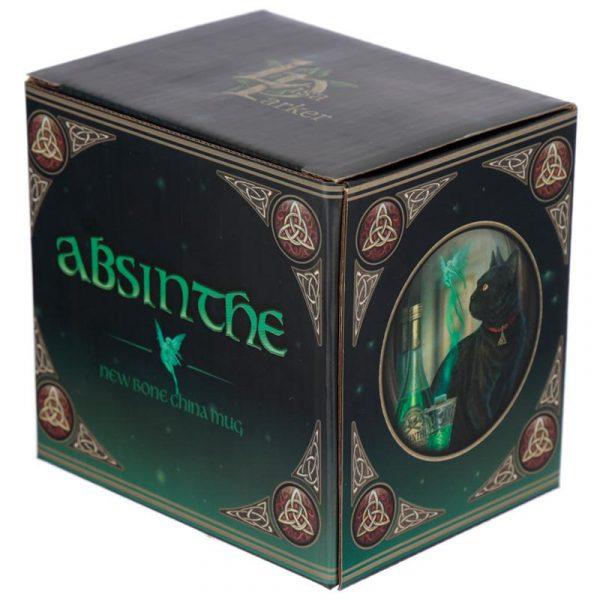 'Absinthe' Black Cat Cat Mug