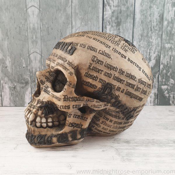 Dracula's Tale Skull Ornament