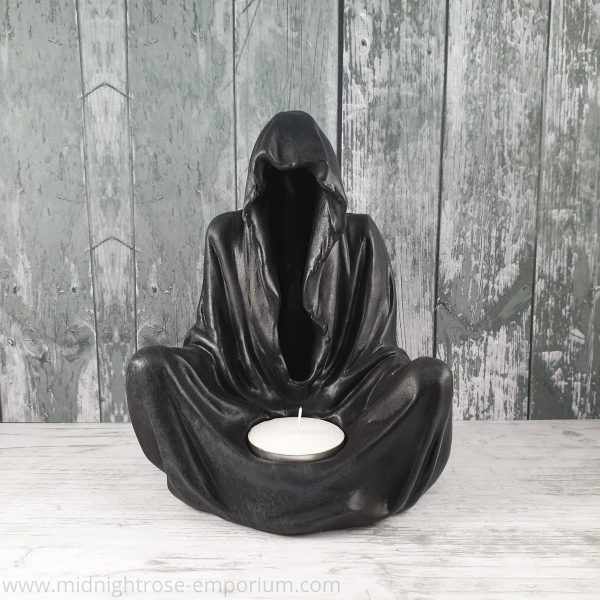 Final Flame Grim Reaper Tea-Light Candle Holder