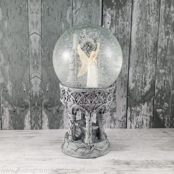 Only Love Remains Snow Globe (Anne Stokes)