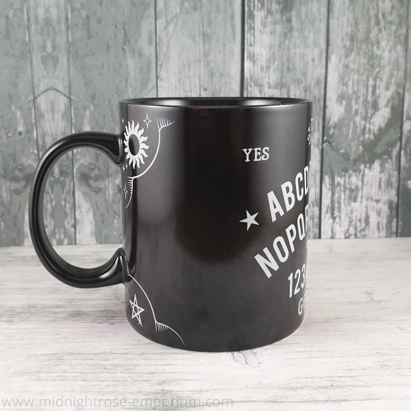 Ouija Board Mug - Black Magic Collection - REDUCED TO CLEAR