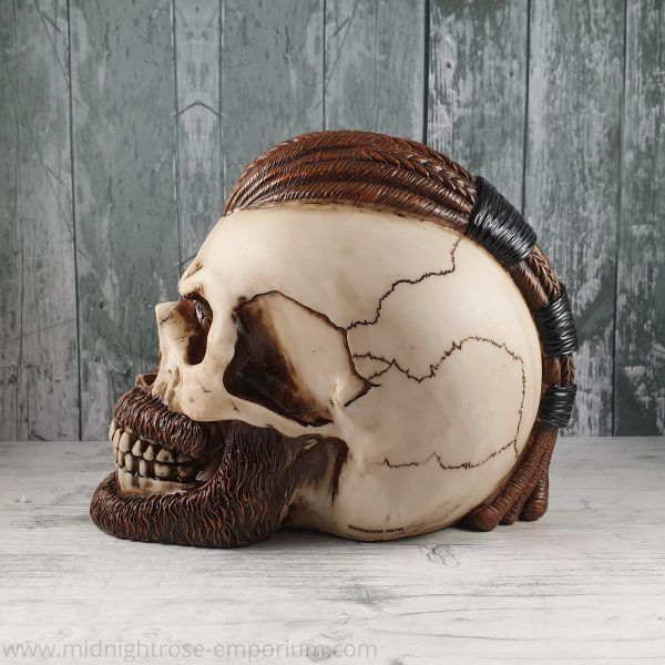 Ragnar Viking Skull Ornament