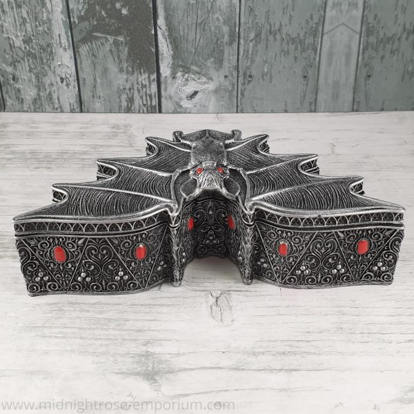 Carpe Noctem Vampire Bat Trinket Box