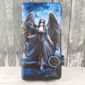 Raven Embossed Purse (AS)