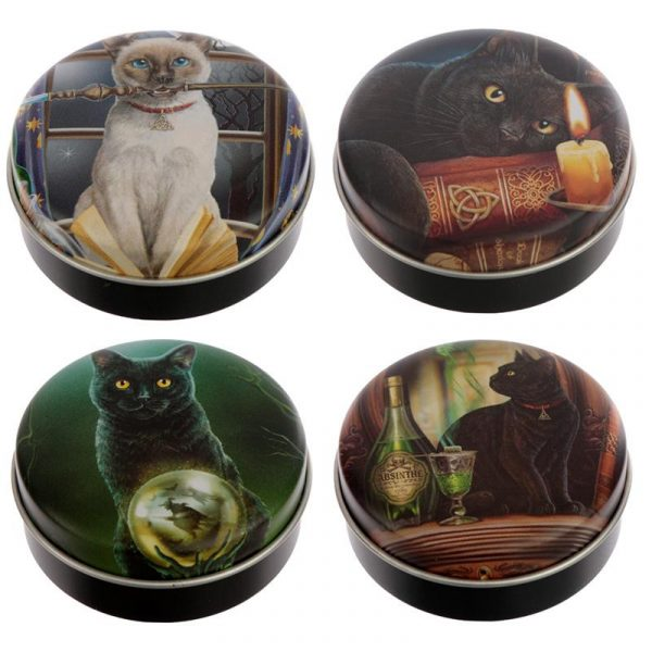 Lisa Parker Magical Cats Lip Balm Tins