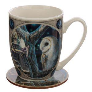 'Fairy Tales' Porcelain Mug & Coaster Set (Lisa Parker)