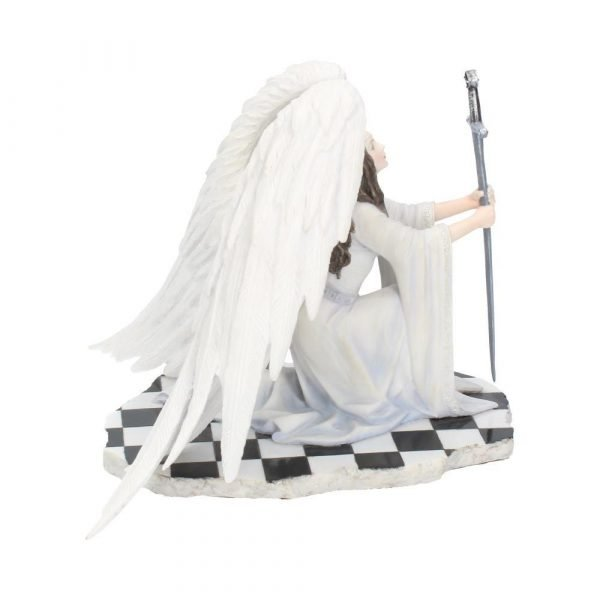 The Blessing - Angel with Sword Figurine (Anne Stokes)