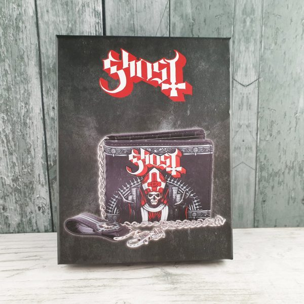 Ghost Red Wallet - Officially Licensed Merch