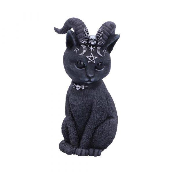'Pawzuph' Horned Cat Ornament 11cm