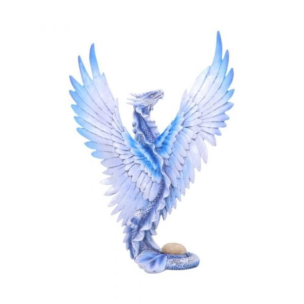 Anne Stokes Adult Silver Dragon Ornament
