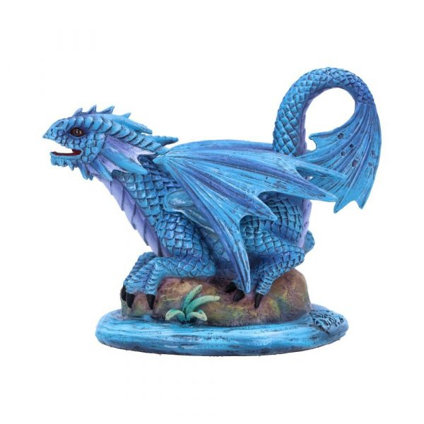 Anne Stokes Adult & Baby Water Dragon Ornaments