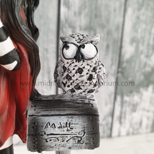 'Missing You' Fairy & Owl Figurine 17.5cm