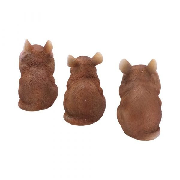 Three Wise Mice 8cm