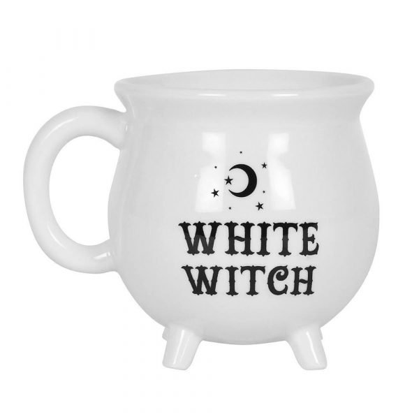 White Witch Cauldron Mug - Black Magic Collection