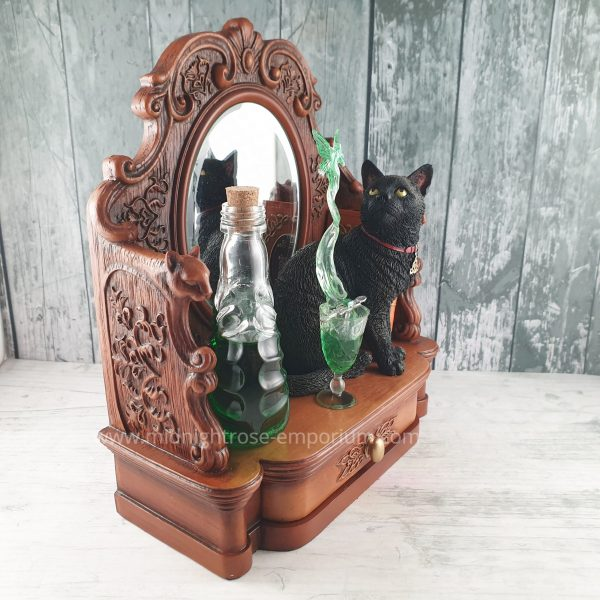 Lisa Parker 'Absinthe' Black Cat Figurine
