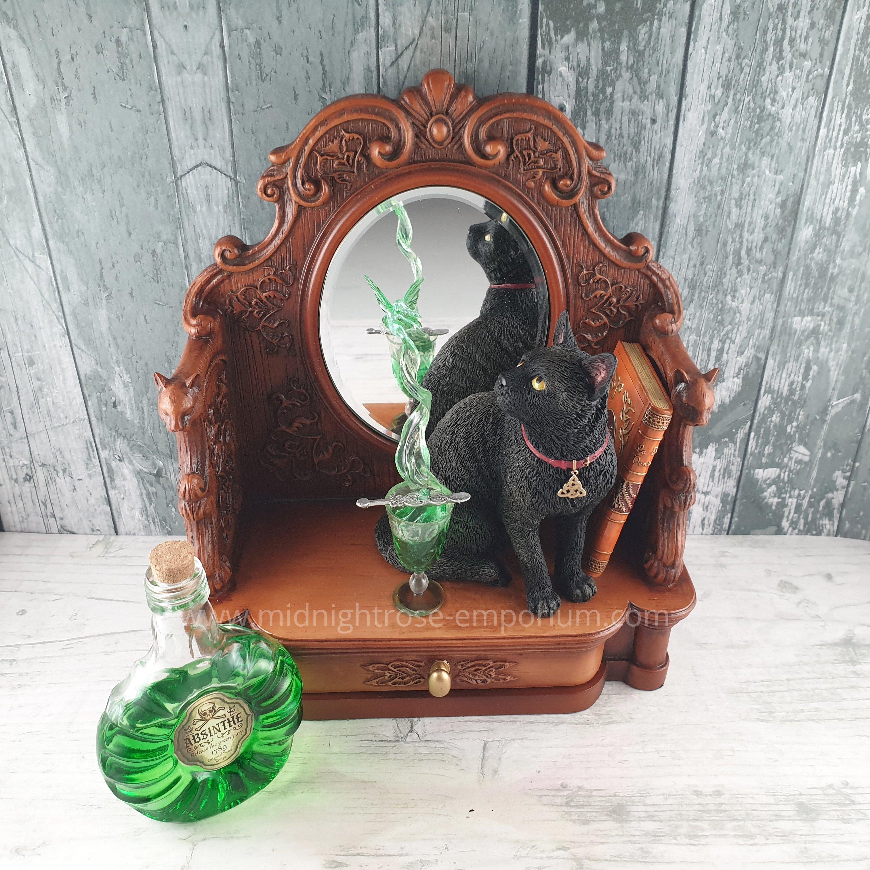 Lisa Parker 'Absinthe' Black Cat Figurine
