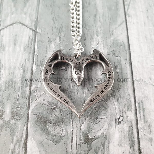 Bat Heart - The Vampire's Kiss Necklace