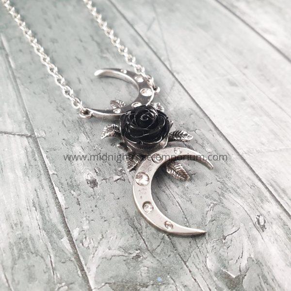 The Black Goddess Necklace