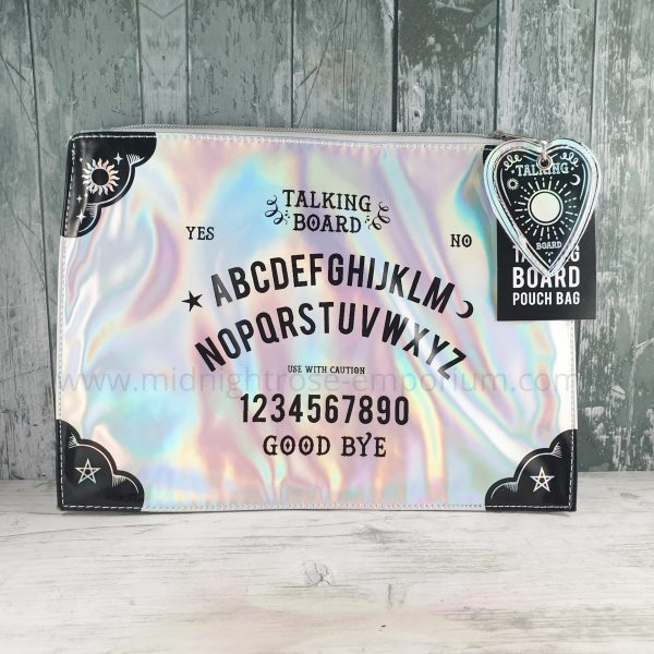 Spirit Board Iridescent Makeup Pouch