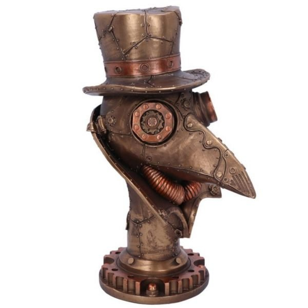 'Beaky' Steampunk Plague Doctor Mask Ornament