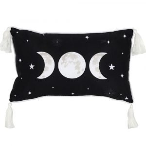 Triple Moon Rectangular Cushion