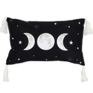Triple Moon Rectangular Cushion