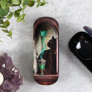 'Absinthe' Black Cat Glasses Case