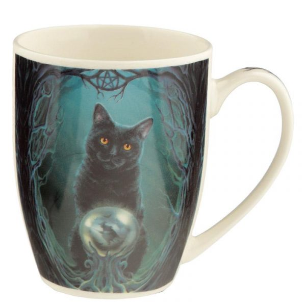 'Rise of the Witches' Black Cat Mug