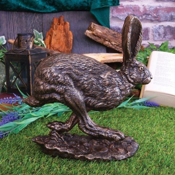'Flight' - Running Hare Ornament - Special Offer