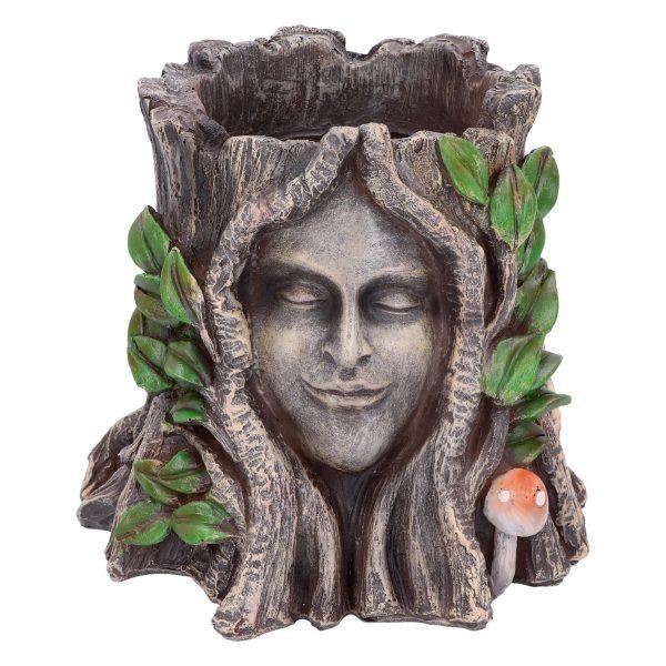 Oak Goddess Pot