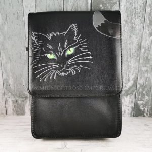 Lucky Black Cat Bag & Phone Holder