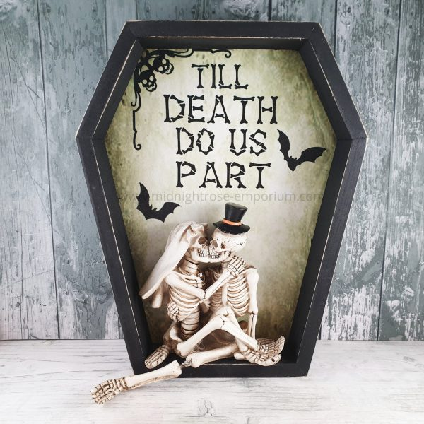 Till Death Do Us Part Wall Plaque 31.3cm
