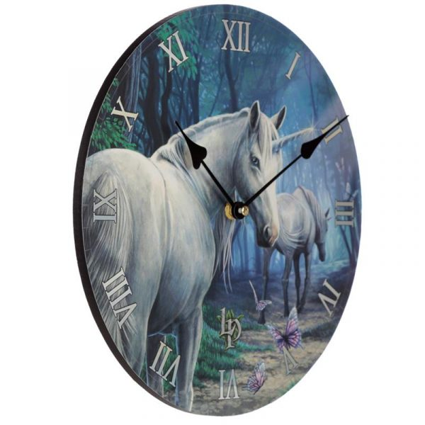 The Journey Home Unicorn Wall Clock
