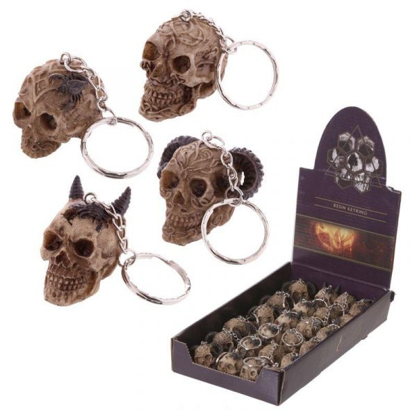 Mini Skull Keyrings - Varied Designs
