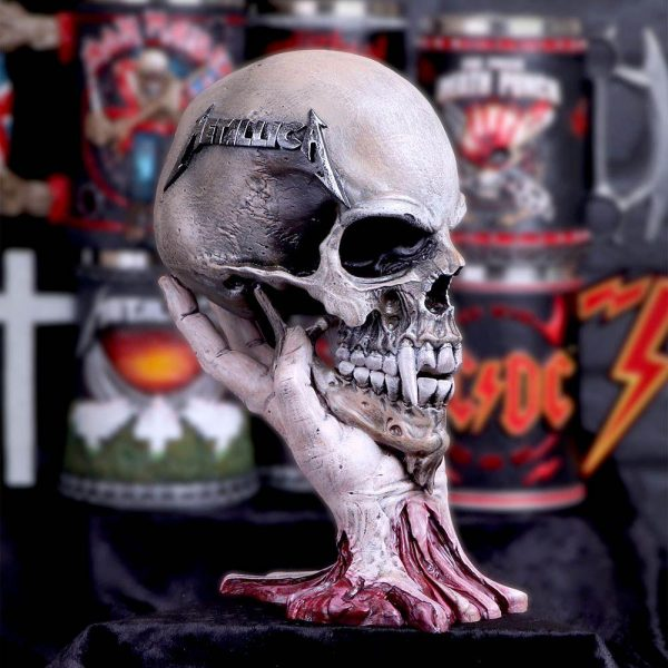 Metallica 'Sad But True' Skull Ornament - Officially Licensed Merch