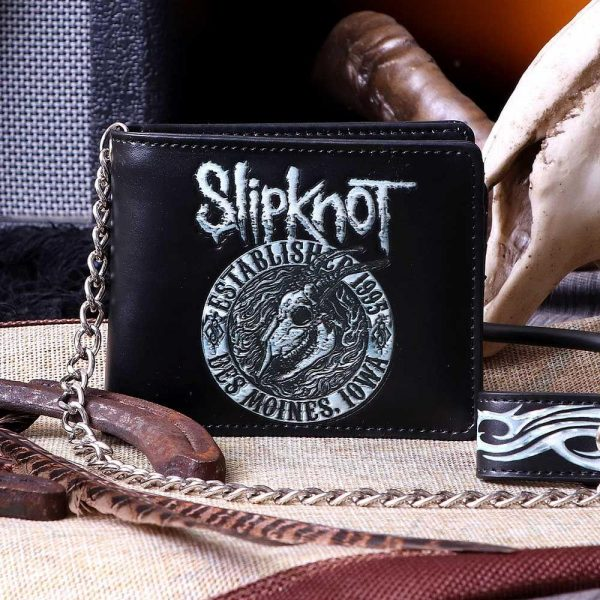 Slipknot Flaming Goat Wallet - Officially Licensed Merch