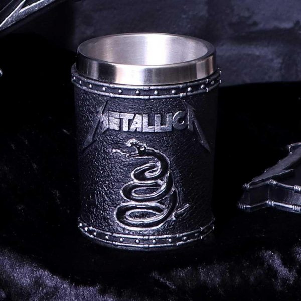 Metallica Black Album Shot Glass